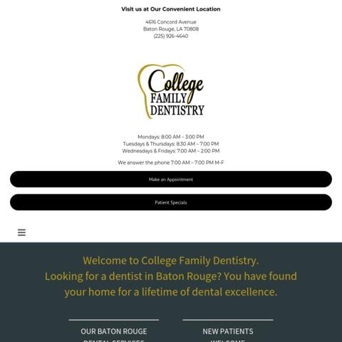 collegefamilydentistry.com